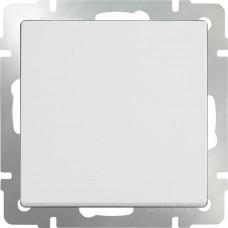 Перекрестный переключатель одноклавишный (белый)