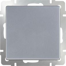 Перекрестный переключатель одноклавишный (серебряный)
