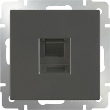 Розетка Ethernet RJ-45 (серо-коричневый)