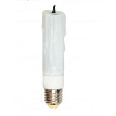 ELC78 свеча декоративная (2U) 11W E27 2700K