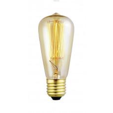 Декоративная лампочка, 1х60W (E27), Ø48, L110