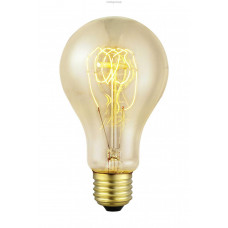 Декоративная лампочка, 1х60W (E27), Ø75, L138