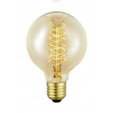 Декоративная лампочка, 1х60W (E27), Ø80, L117