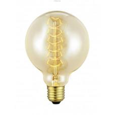 Декоративная лампочка, 1х60W (E27), Ø95, L135