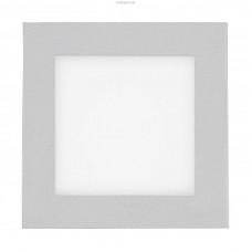 93653 Светильник встраиваемый LED GLENN, 2х2,5W (LED), 200х100, серебристый/пластик сатинированный