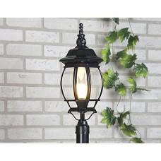 Светильник на столбе 1043 черный