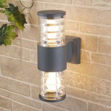 Настенный уличный светильник Techno 1407 cерый
