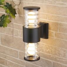 Настенный уличный светильник Techno 1407 черный