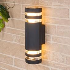 Настенный уличный светильник Techno 1443 черный