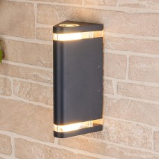 Настенный уличный светильник Techno 1484 черный