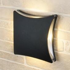 Настенный уличный светильник Techno 1014 черный