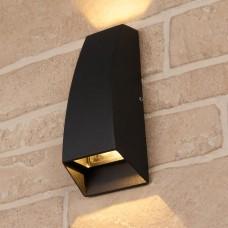 Настенный уличный светильник Techno 1016 черный