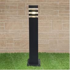 Светильник на столбе 1550 TECHNO black черный