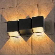 Настенный светильник TECHNO 1694 LED черный