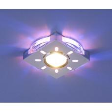 1051 хром/синяя подсветка (CH/BL/Led)
