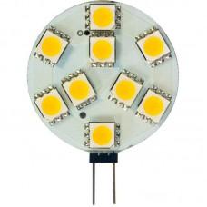 Лампа светодиодная LB-16 9LED(2W) 12V G4 (для мебельных св-ков)