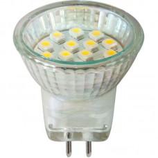 Лампа светодиодная LB-27 14LED(1W) 230V G5.3 MR11