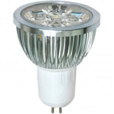 Лампа светодиодная LB-14 4LED(4W) 230V G5.3 MR16