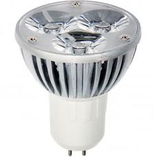 Лампа светодиодная LB-112 3LED(3W) 230V G5.3 MR16