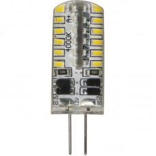 Лампа светодиодная LB-422 48LED(3W) 12V G4 капсула силикон