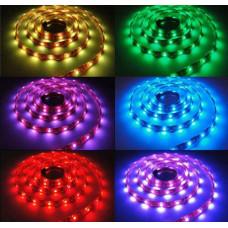 Герметичная светодиодная лента SMD 5050 30LED/m IP65 12V RGB