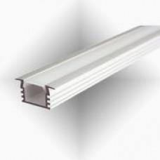 Встраиваемый алюминиевый профиль СТ-1225 (аналог PDS-F)