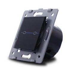 Выключатель сенсорный двухлинейный модульный