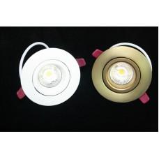 Встроенный светодиодный светильник Q3X-бронза цвет корпуса
