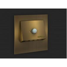 Zamel Светильник NAVI Золото/Хол.бел. в монт.коробку, 14V DC с резервным питанием (1.5 часа)